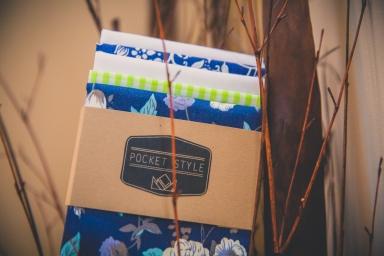 Unique Handmade Pocket Squares